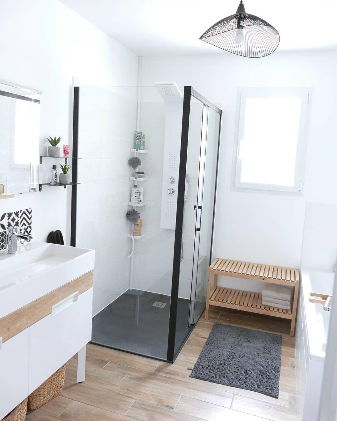 Bathroom Salle De Bain côté salle de bain ? . . . #cs_homedeco #maisonneuve