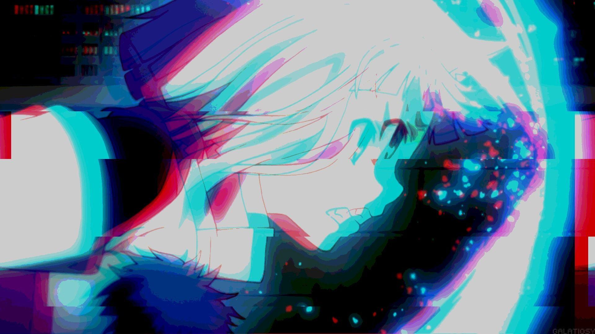Aesthetic Anime Wallpaper Glitch in 2020   Glitch ...