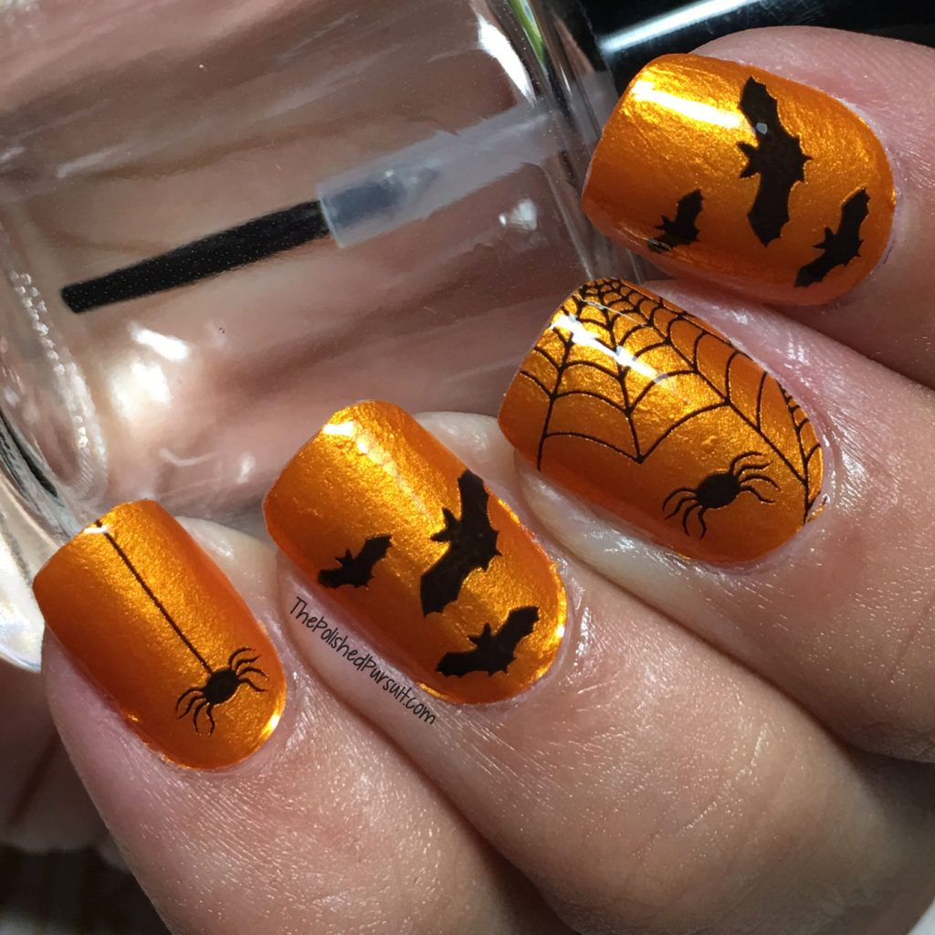 Halloween Nails by Coconut Nail Art | Coconut nail art ...