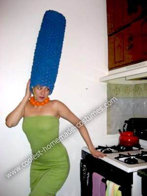 Coolest Homemade Marge Simpson Costume Simpsons Costumes Marge Simpson Costume Costumes