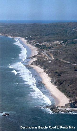 Aerial Shot Of Stunning Los Veneros Beach Great For Kite And Wind Surfing Boogie Boarding Walking Sayulita Mexico Most Beautiful Beaches Beautiful Beaches