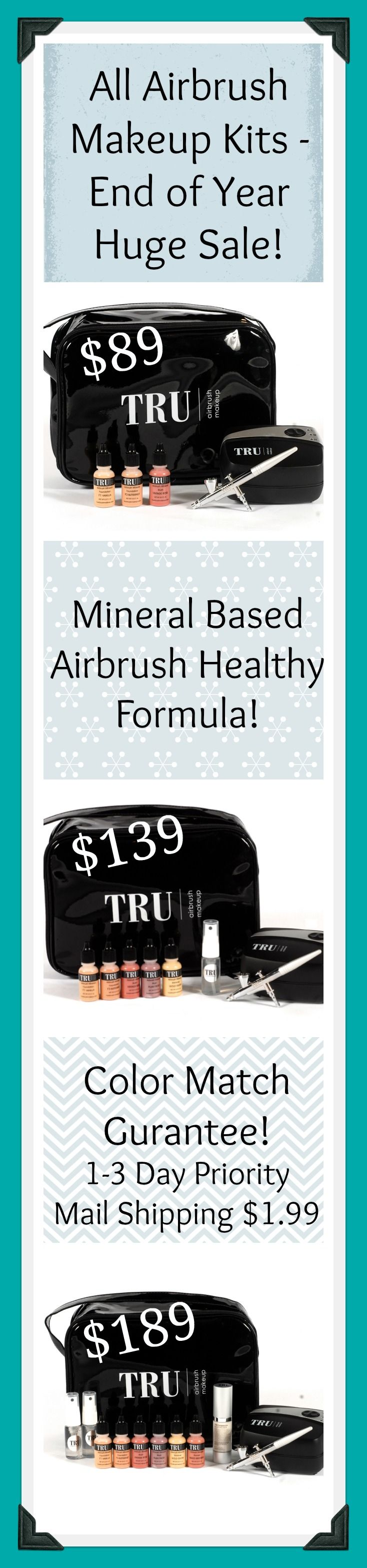 Pin by TRU Airbrush Cosmetics on Airbrush Makeup Tips