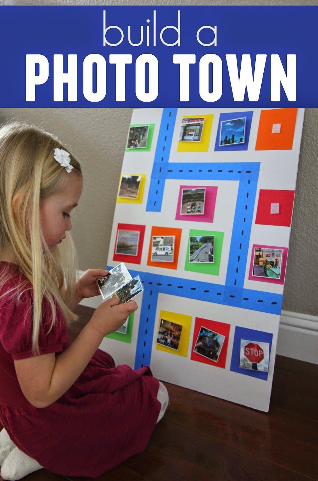 Build An Around Town Photo Wall