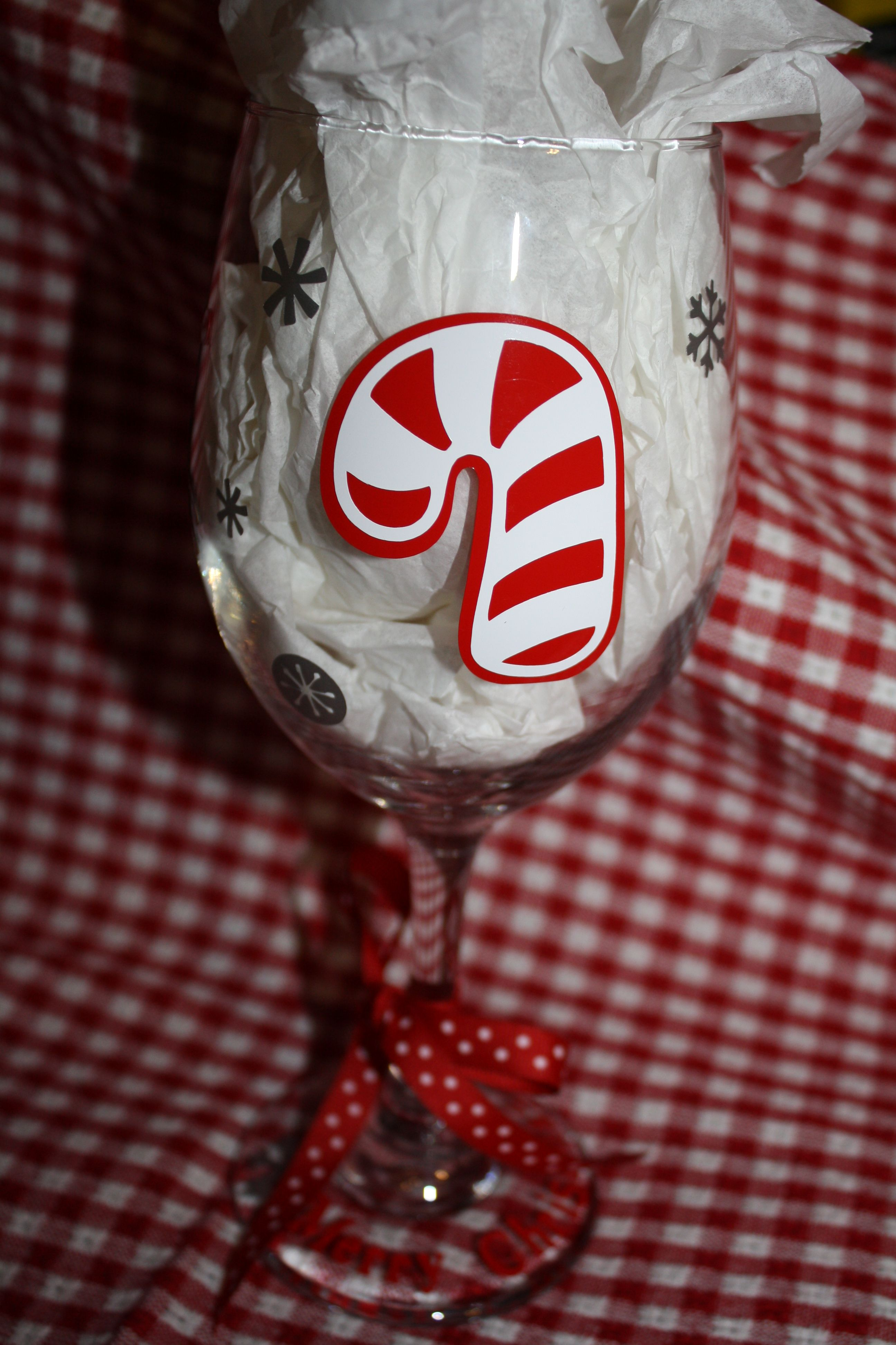 Christmas Christmas Wine Cricut Projects Vinyl Christmas Inspiration