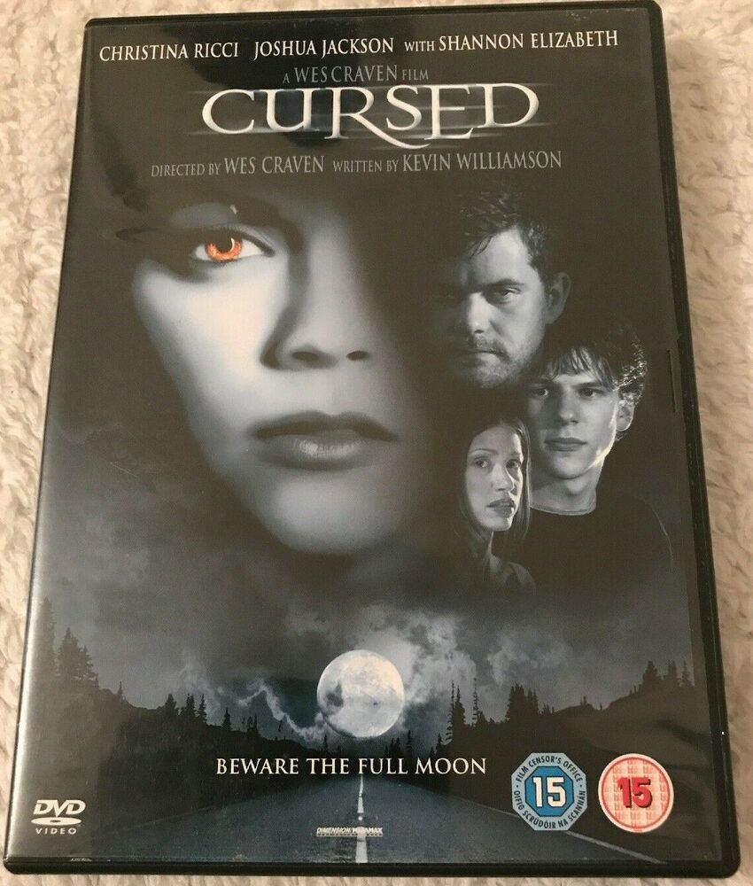 Details About Cursed Dvd 2005 Christina Ricci With Images