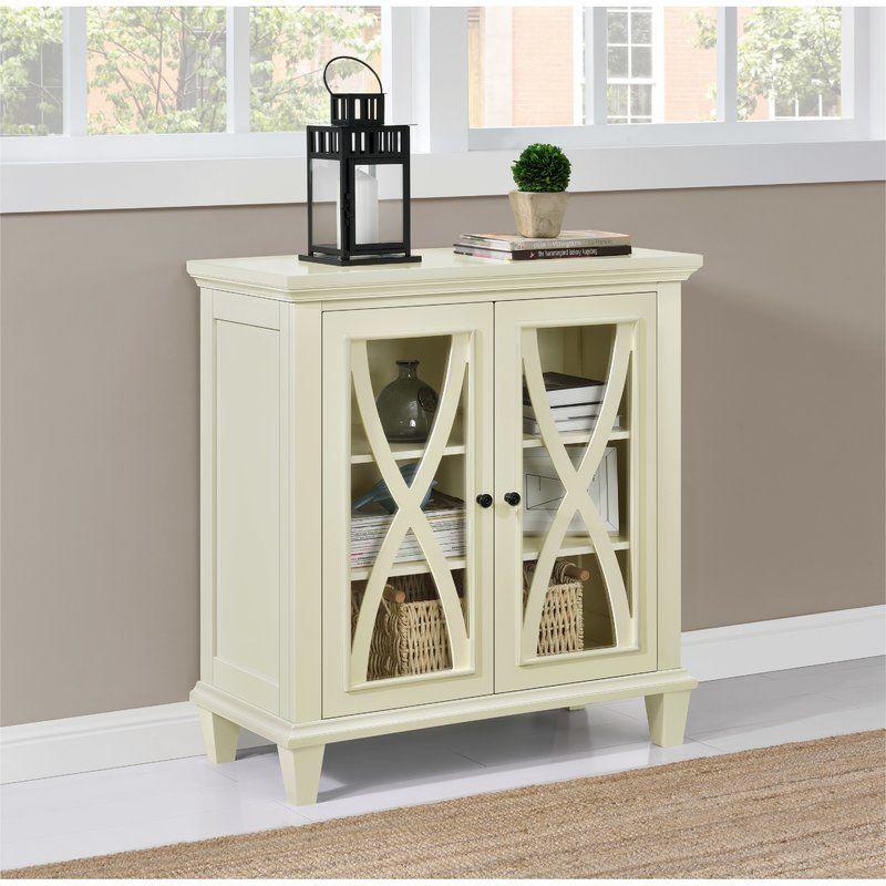 Best Rosendale 2 Door Accent Cabinet Decor Furniture Wooden 400 x 300