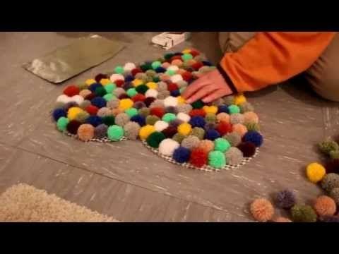 Teppich Selber Machen pompon teppich bommel teppich selber machen decor