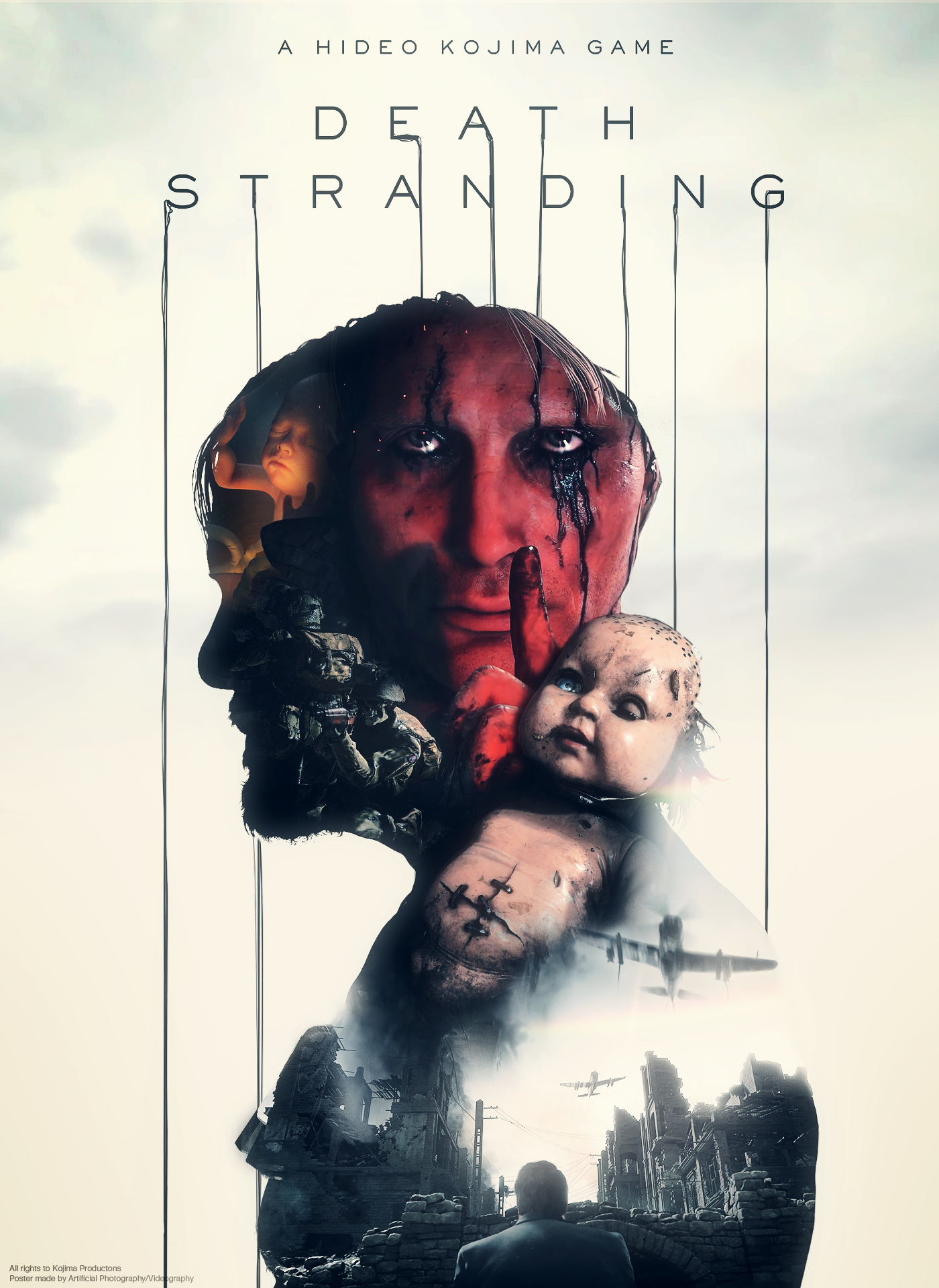 Death Stranding Poster Fan Made [Artificial Photography