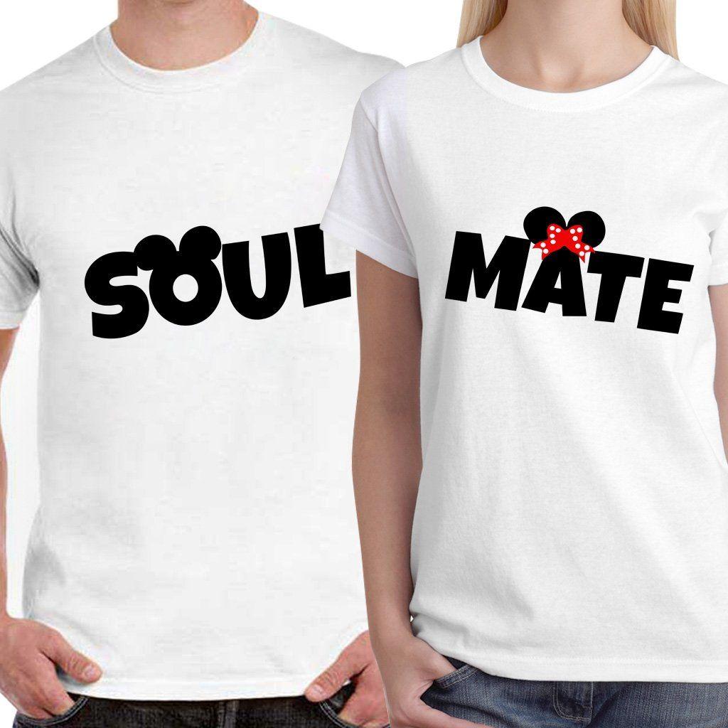 Dreambag couple t shirts soulmate unisex couple t shirts