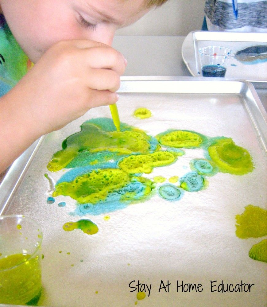 Color Theory For Preschoolers Part II | Baking powder, Preschool ...
