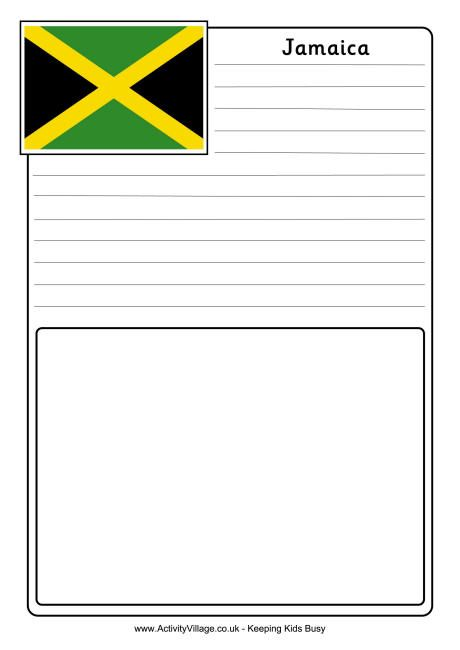 Jamaica Notebooking Page Travel Scrapbook Pages Business For