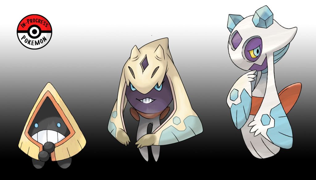 361 478 Froslass Line By Inprogresspokemon Pokemon