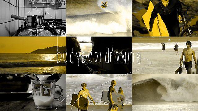 Bodyboardrawing by Dêxa Produtora. Este trabalho de Guido Santos ficou excelente. É um apanhado com os melhores bodyboarders do mundo nas ondas mais grotescas das Américas.