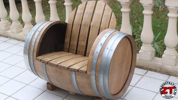 tonneau barrique 261БочкиFauteuil Chaise fut etape QdxsrCthBo