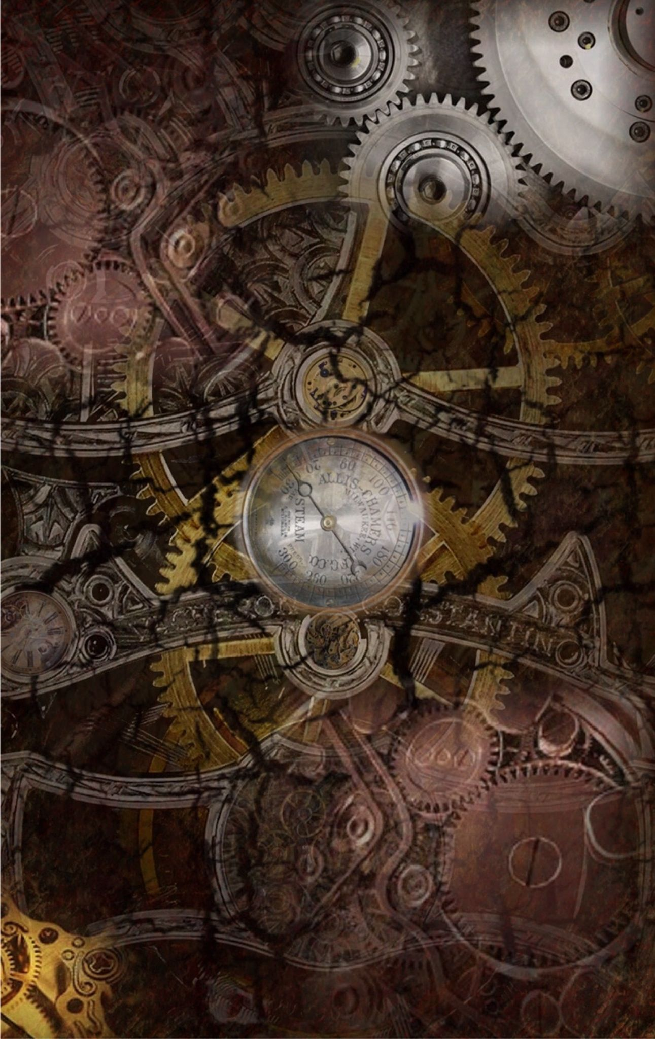 steampunk iphone wallpaper -#main