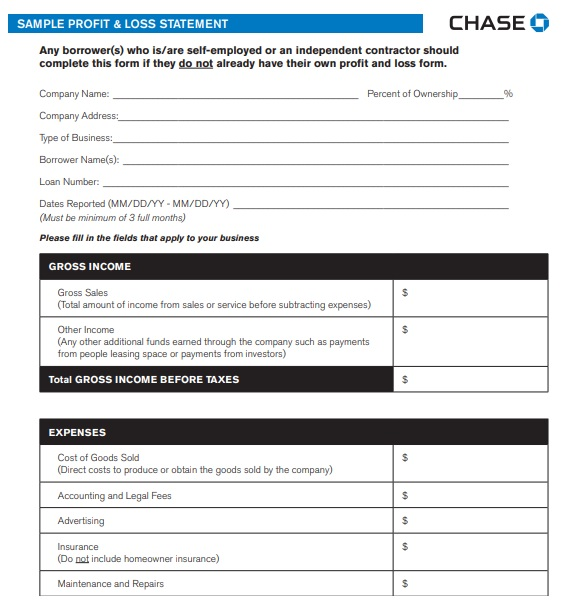 25 Free Printable Profit And Loss Statement Templates Forms Profit And Loss Statement Statement Template Templates
