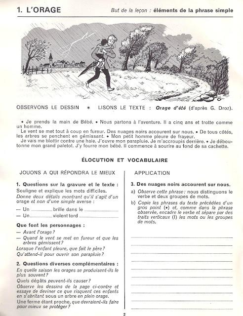 Le Vocabulaire Et La Redaction Dirigee Ce Expression Ecrite Vocabulaire Et Exercices De Vocabulaire
