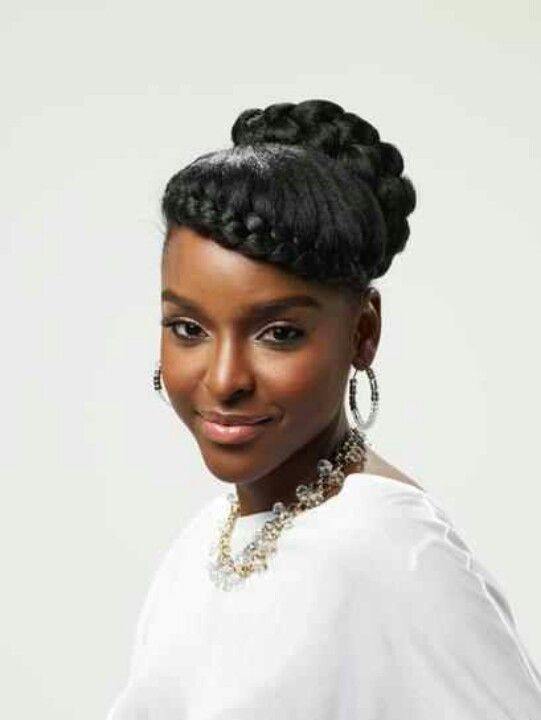 Wedding Hairstyles For Black Women Stunning Pinendora Harris On Black Hair  Pinterest  Black Hair