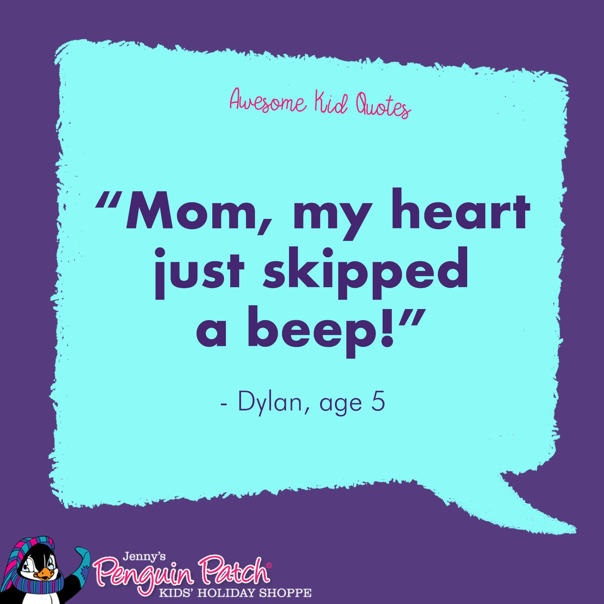 My Heart Skips A Beep When I See My Kids Funny Quotes For Kids Quotes For Kids School Holiday Gift