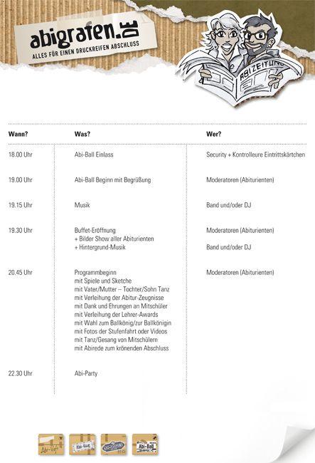 Abiball Programm Planung Und Durchfuhrung Abi Programm Und