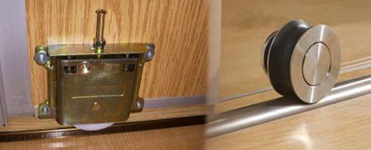 Casas cocinas mueble rieles para puertas correderas correderas rieles railes rodamientos - Rieles puerta corredera ...