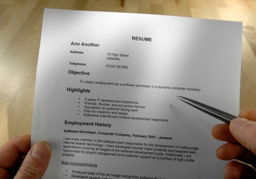 Tips For Avoiding The Resume Black Hole