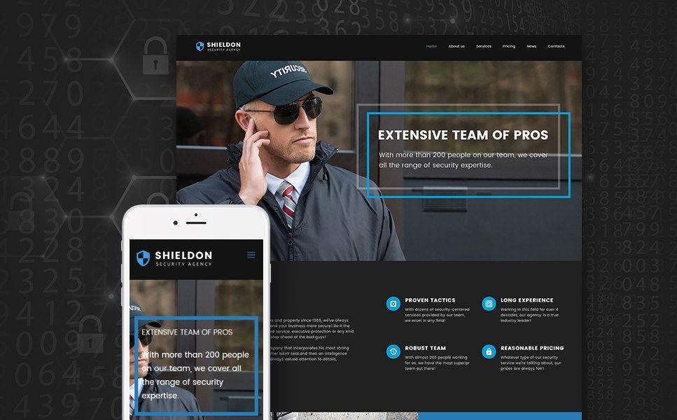 15+ Best Security Company WordPress Themes - Shieldon (WordPress ...