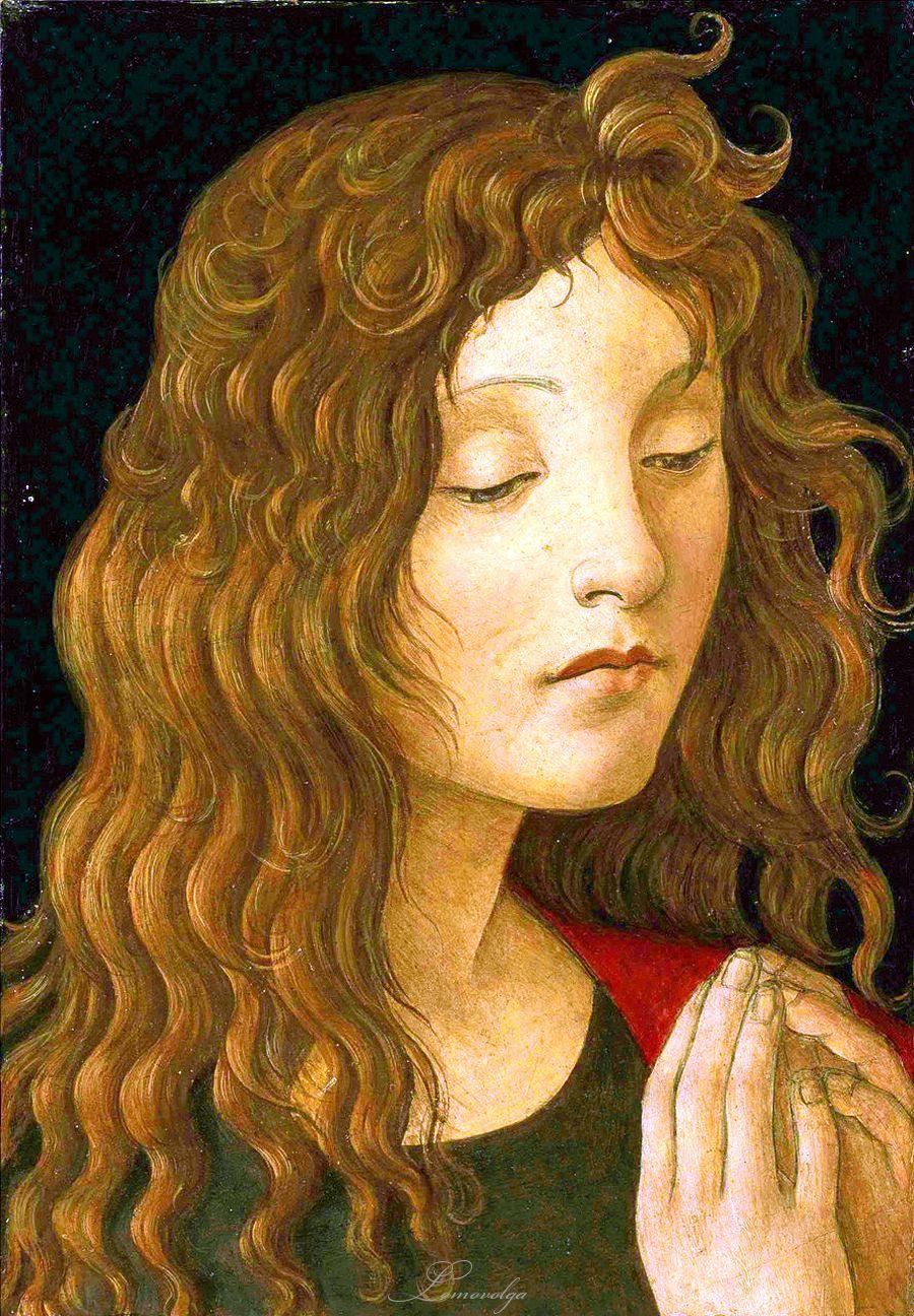 Saint John the Baptist (detail), Sandro Botticelli, 1445 - 1510 | Peinture renaissance, Peinture ...
