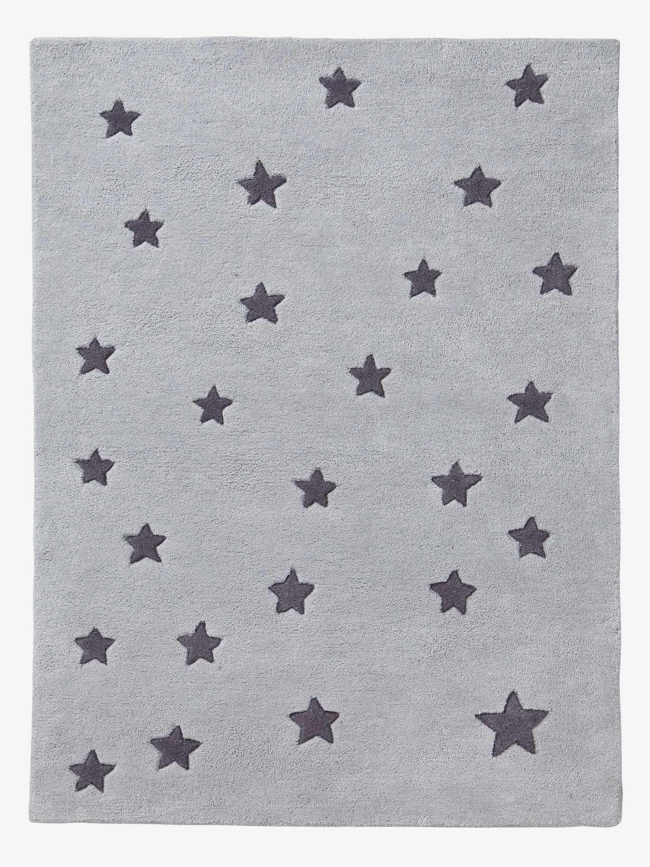 Tapis Petites étoiles - gris/étoiles   BB en 2019   Tapis ...