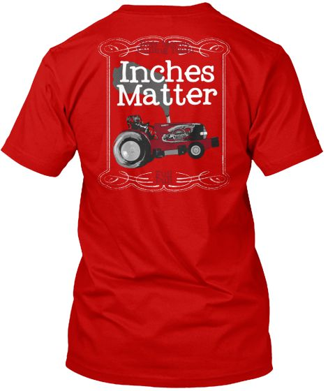 Custom Pulling Tractor T Shirts : Inches matter https teespring stores beer money