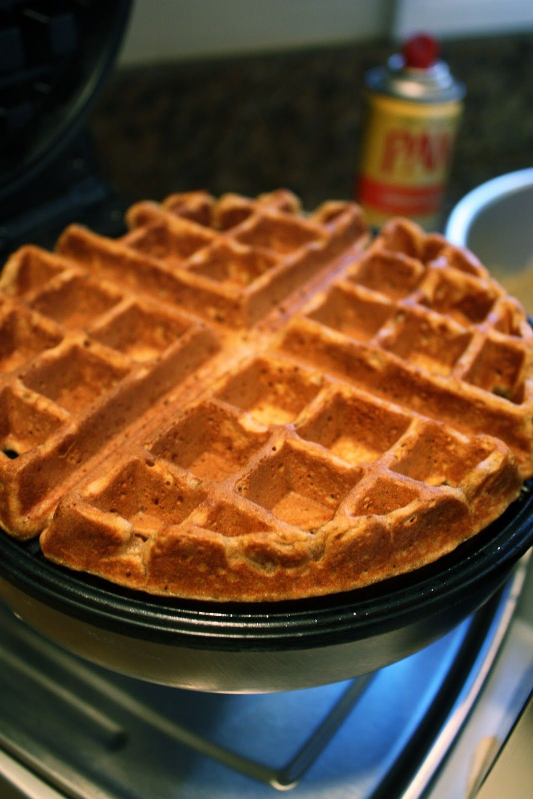 Gingerbread Waffles | Melanie In The Middle