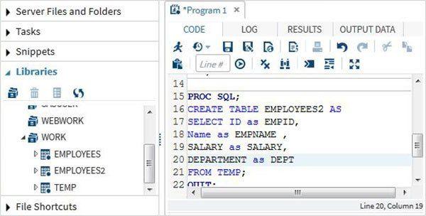 SAS – SQL