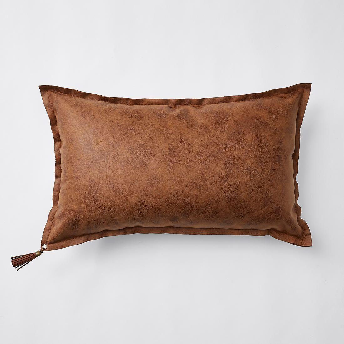 15 Target Kali Faux Leather Rectangle Cushion