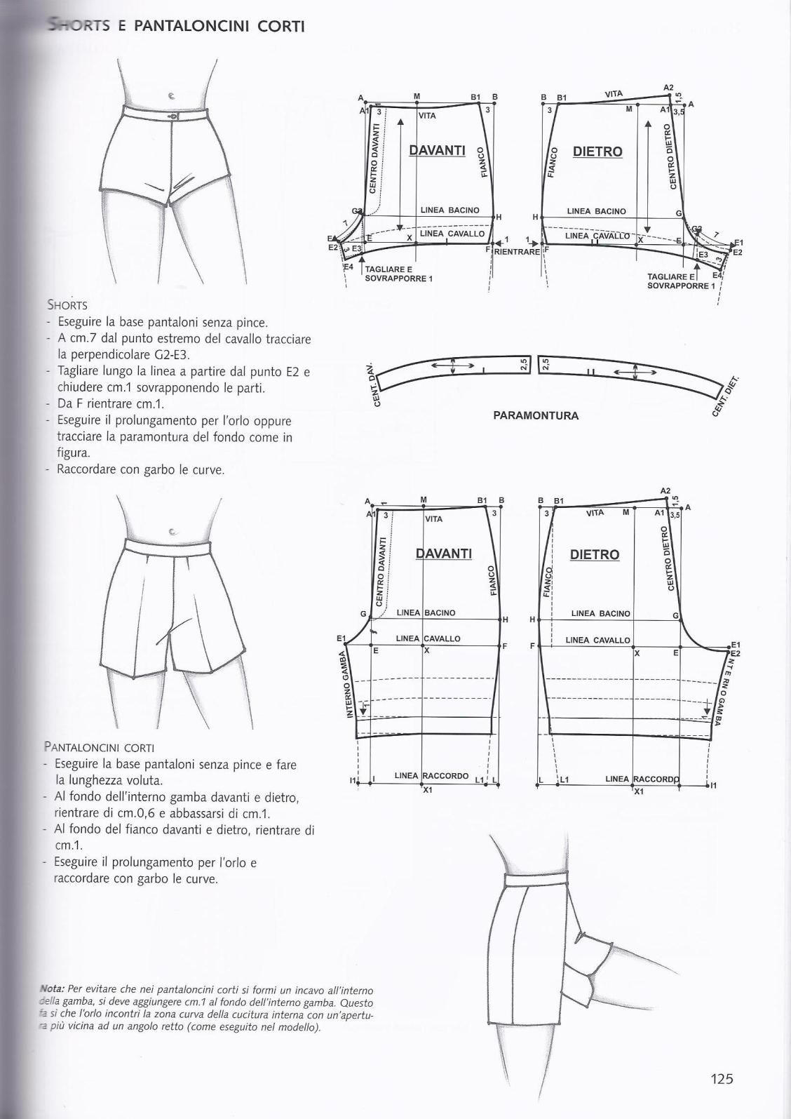 shorts | undergarments patterns | Sewing patterns, Sewing, Sewing pants