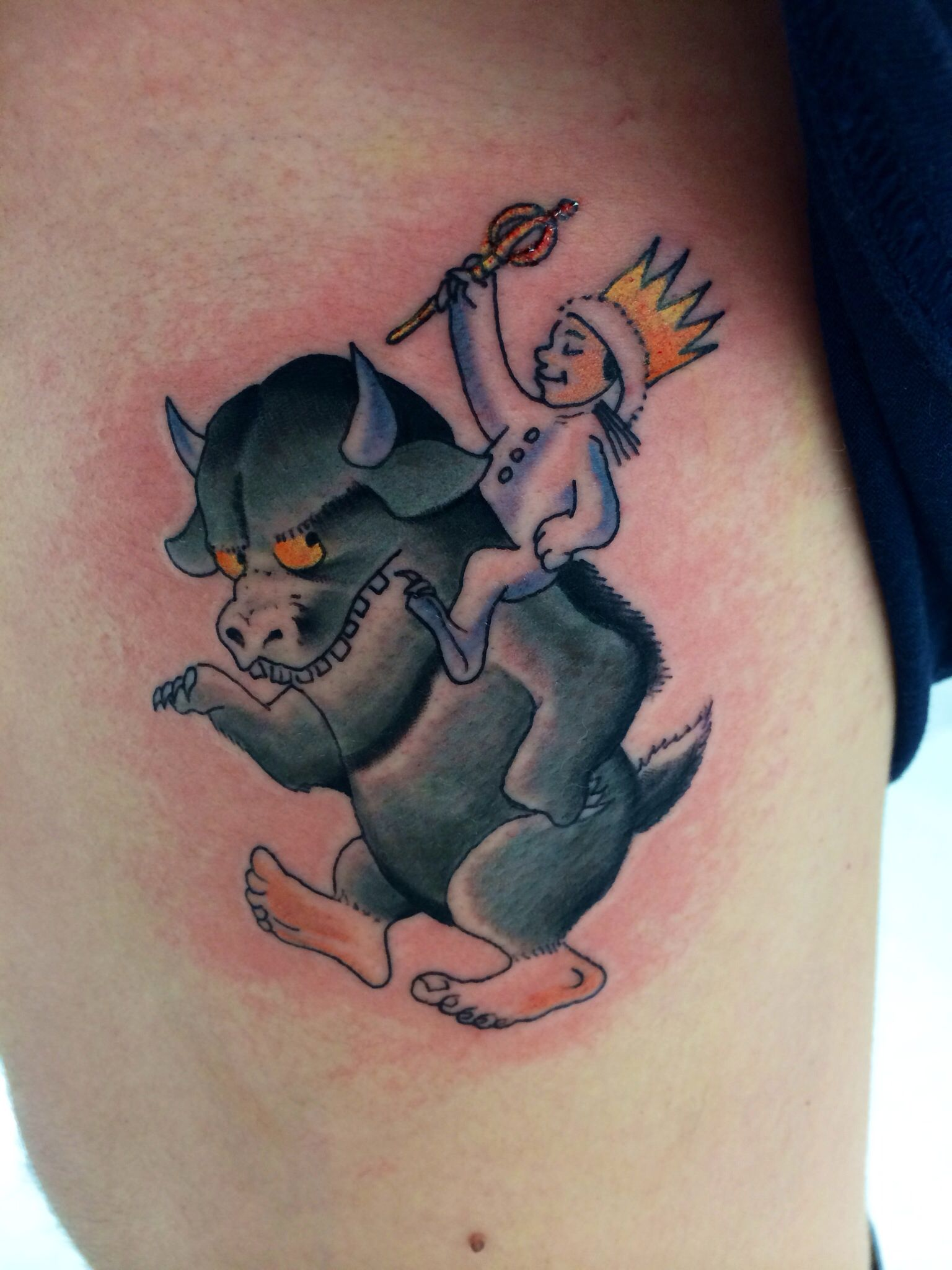 Max from where the wild things are tattoo | Tattoos ...