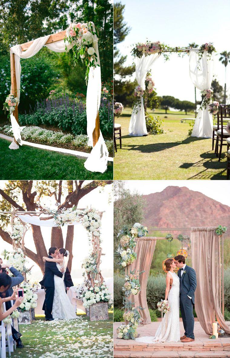 Las bodas al aire libre en parques y jardines convierten for Ideas para decorar jardines