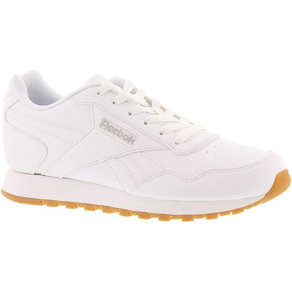 Reebok Classic Harman Run Women S White Sneaker 70 Liked On Polyvore Featuring Shoes Snea Womens Fashion Shoes Sneakers Reebok Classic White Colour Shoes