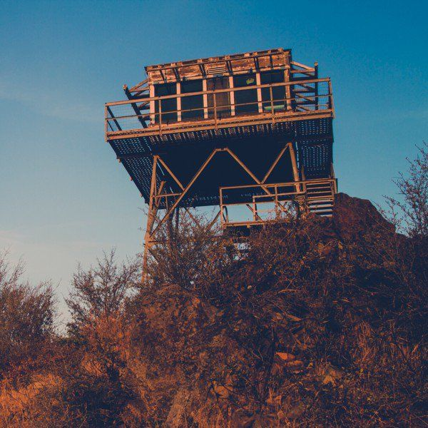 Jack Kerouac spent the summer of 1956 manning a fire tower on Washington's Desolation Peak, in the northern Cascades. He didn't do much writing there, apparently, despite being alone with pencil and paper. But he stayed for 63 days. The views were good.