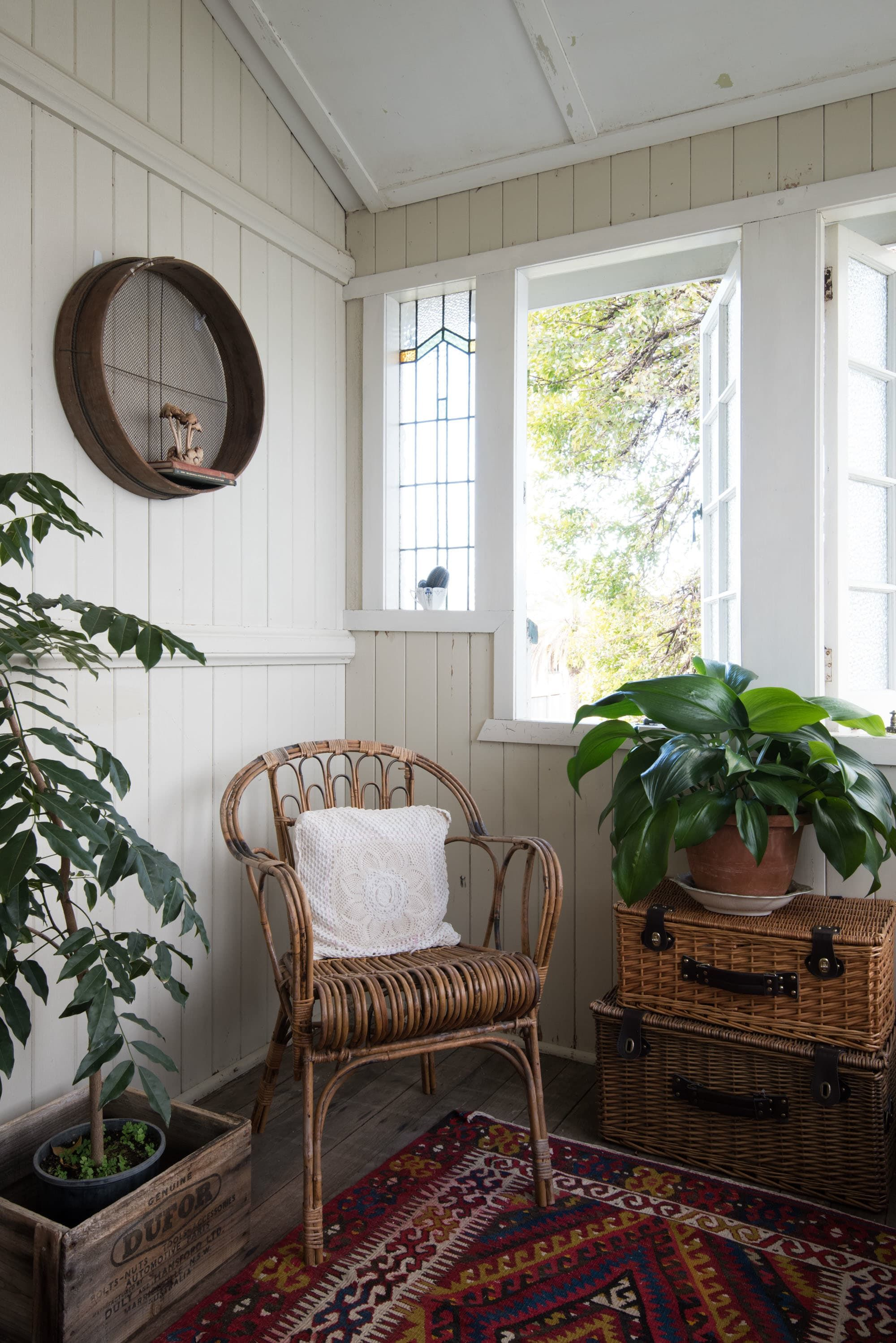 A Warm, Bohemian Country Style Australian Home Small