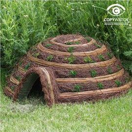 Cabane Igloo confort pour hérissons   Au jardin   Pinterest