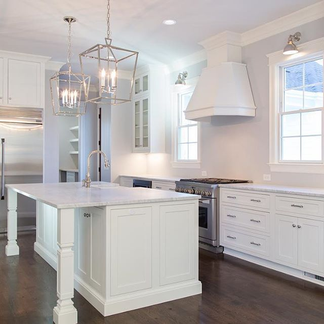 White Kitchen Cabinets Out Of Style: Never Out Of Style...white Inset Cabinets And Carrara