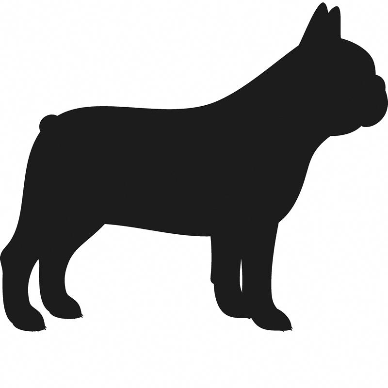 French Bulldog Stamp Silhouette Stamptopia Dog Silhouette French Bulldog Art Bulldog Breeds