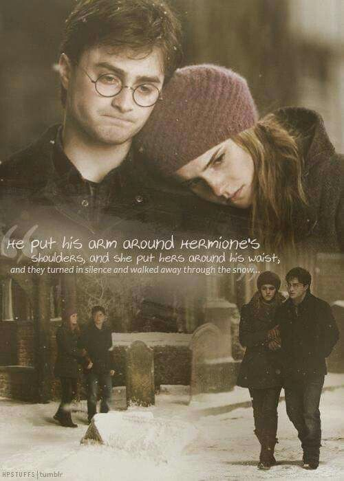 Visit To Godric S Hollow Harry Potter Love Harry And Hermione Harry Potter Friendship