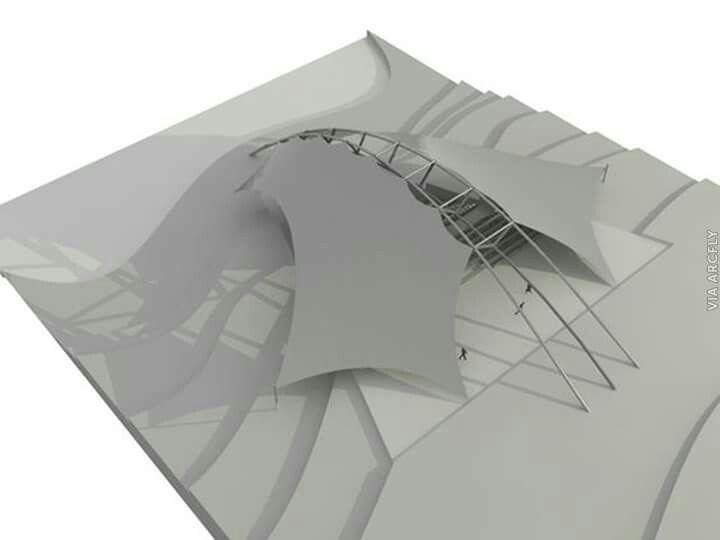 pin von ahmed abdul-aziz auf tensile arch fabric | pinterest, Innenarchitektur ideen