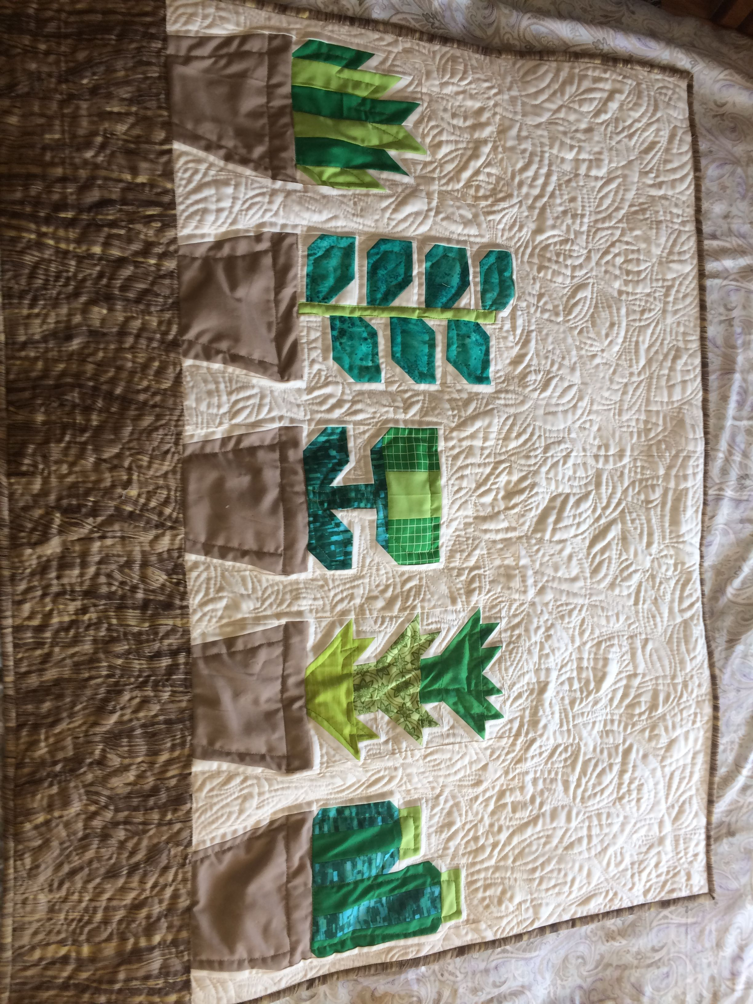 Quilt Pattern ~ GREENHOUSE ~ by Elizabeth Hartman