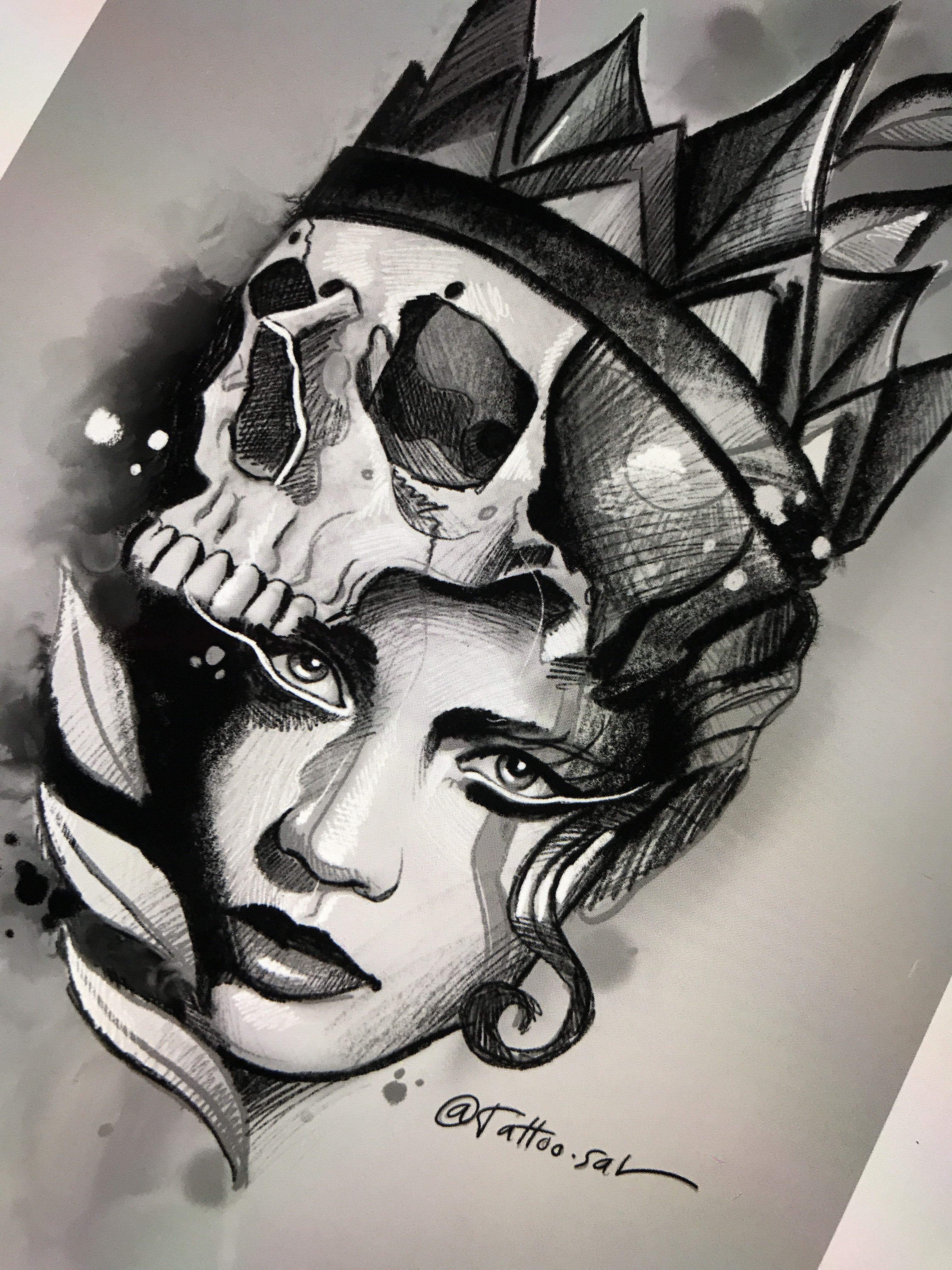 Inspired Design Body Art Tattoos Neo Traditional Tattoo Portrait Tattoo