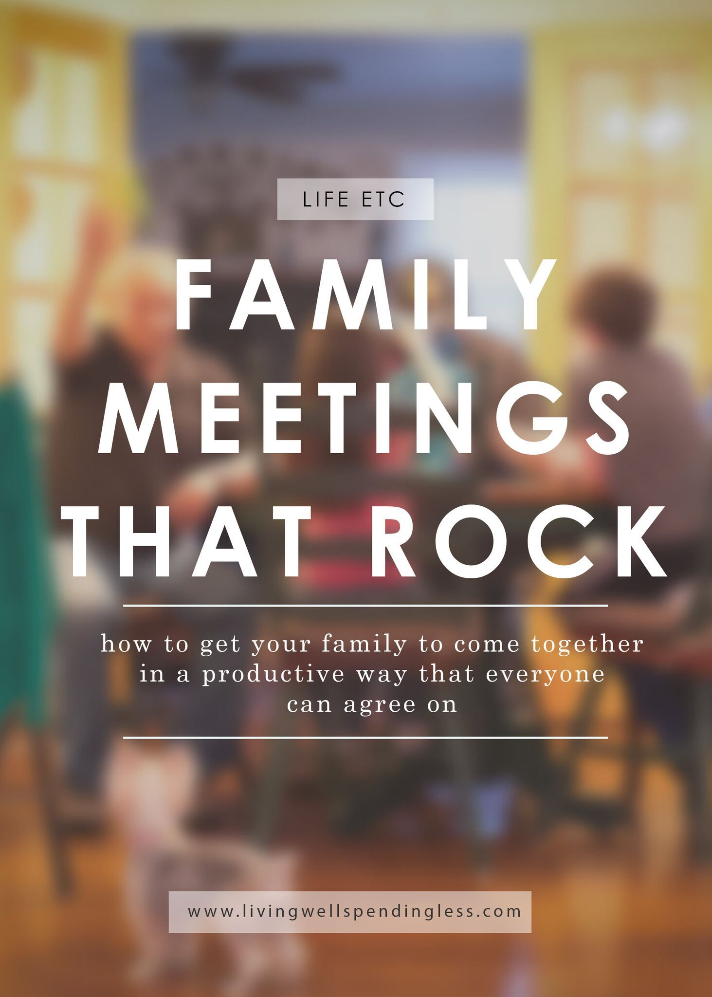 Family Meetings That Rock  Rock Family Meeting And Parents