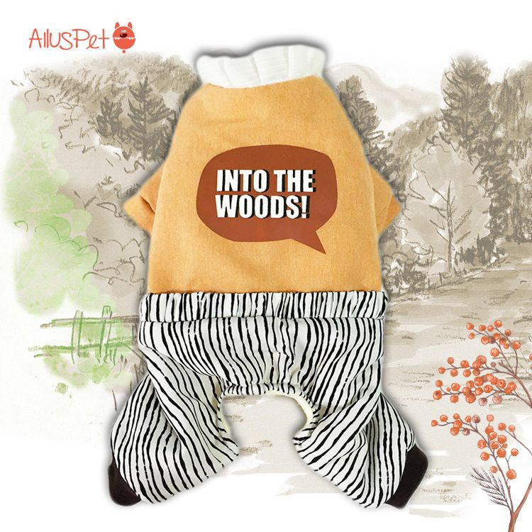 Dog Coats Four Legs Hoodies Cotton Lovely Clothing Pet