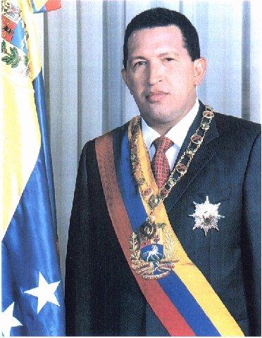 Foto de Hugo Rafael Chávez Frías en su primer mandato presidencial. #Venezuela