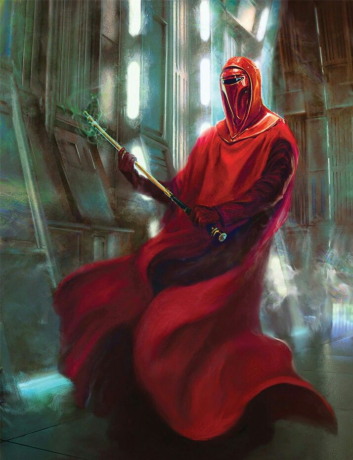 Imperial Guard Star Wars Painting Star Wars Artwork Star Wars Canon